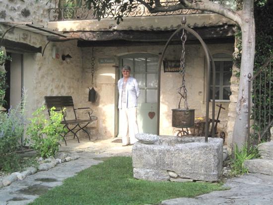La Ferme de la Huppe : The courtyard