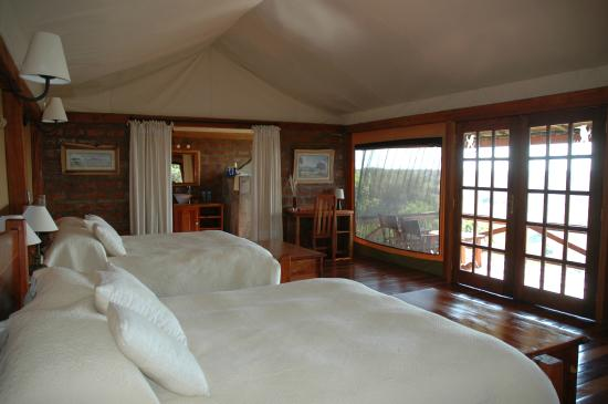 Mara West Camp: Secluded Chalet Room