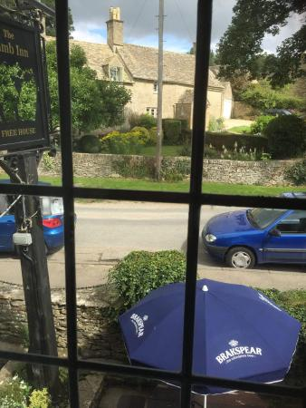 Great Rissington, UK: view from the room