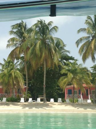 Abaka Bay Resort: Bungalows on the beach