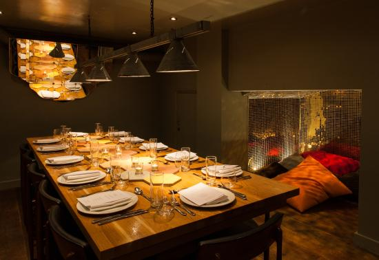 restaurant review reviews lutyens private rooms london england