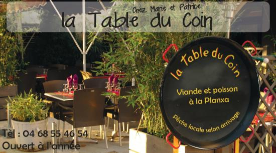 La Table du Coin