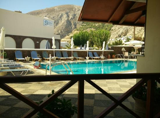 Fomithea Hotel: zona piscina