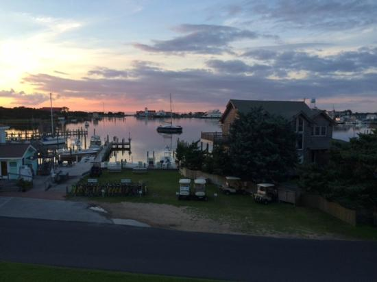 Ocracoke Harbor Inn: Sunset from room