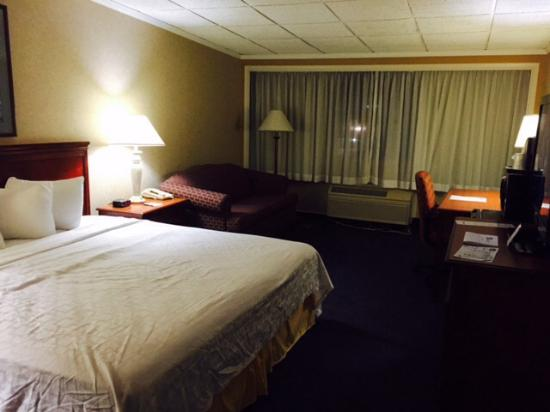 Best Western Lehigh Valley Hotel & Conference Center: Bed and sofa bed