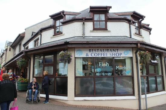 The fish market mallaig scotland aug 2015 picture of for Fish market restaurant