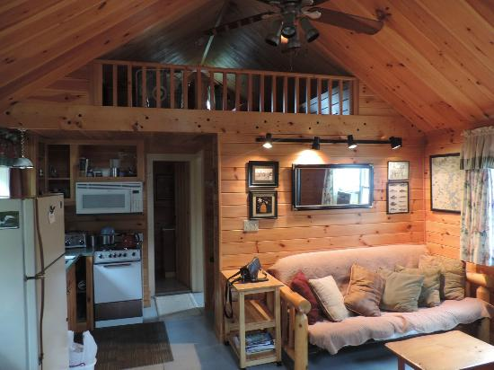 Birch Point Cabins: K1 interior