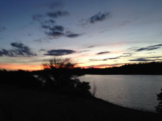 Majestic Dude Ranch: Sunset Trail ride around Mancos Lake