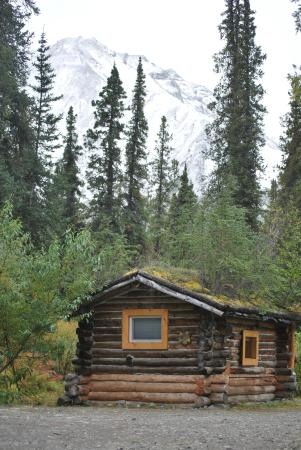 Carlo Creek Lodge: Cabin T, and oldie for sure.