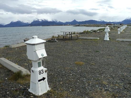 Heritage RV Park : Beachfront sites