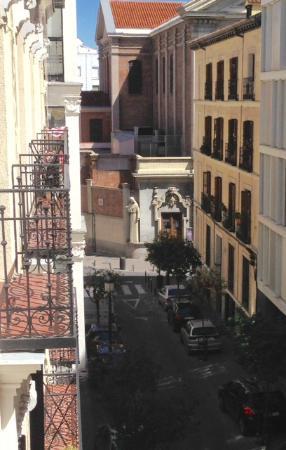 Hostal Dulcinea: Vista desde el balcón