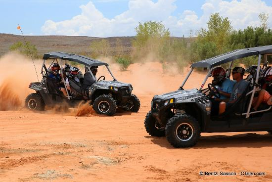 Southern Utah Adventure Center : Brave enough to ride with our tour guides