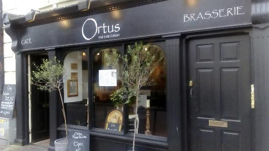 Bandon, Irland: Cafe brasserie ortus fine food