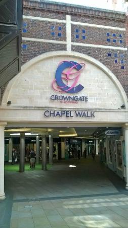 Crowngate Car Park Worcester