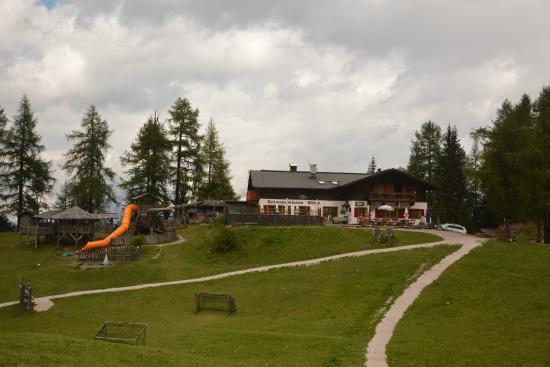 Rifugio Croda Rossa - Rotwandwiesenhutte : Prati di croda rossa