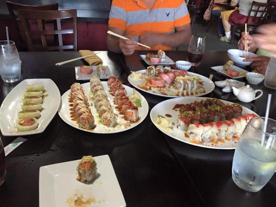 Jeffersonville, IN: Best Sushi for a great price!