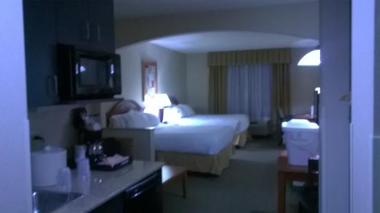 Holiday Inn Express Hotel & Suites Erie (Summit Township) : Comfortable and well appointed room