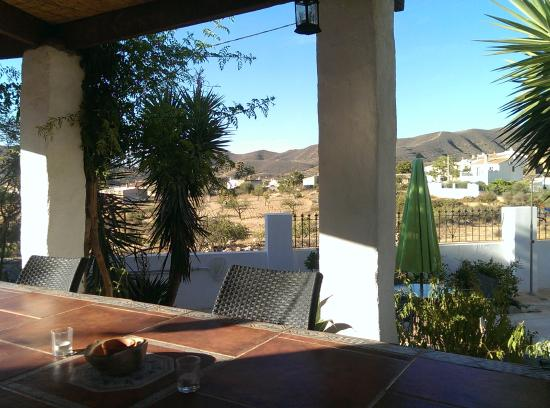 Sorbas, Испания: From the verandah