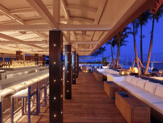 The 1 Rooftop Hotel South Beach Bar Lounge
