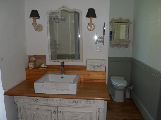 Chambres d'Hotes du Parc : Bathroom