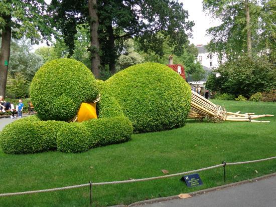 Endormi picture of jardin des plantes nantes tripadvisor for Restaurant jardin des plantes nantes