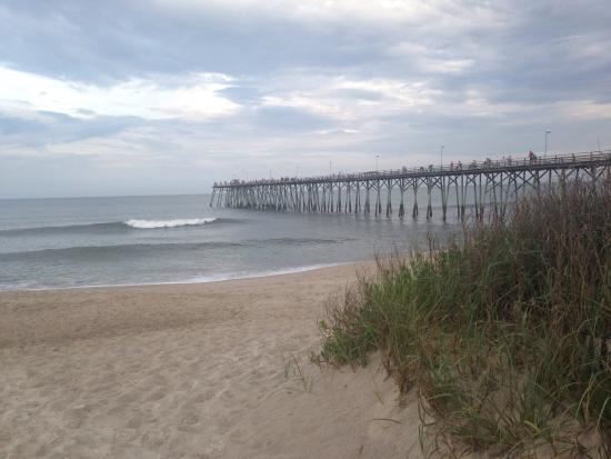 Great views picture of carolina beach fishing pier for Carolina beach fishing pier