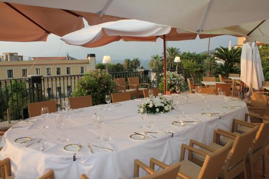 Wedding Reception Table Picture Of Grand Hotel La Favorita
