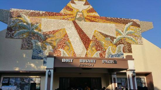 Boracay Royal Park Hotel: The Holy Rosary Parish Church in Boracay just walking distance to Royal Park Hotel