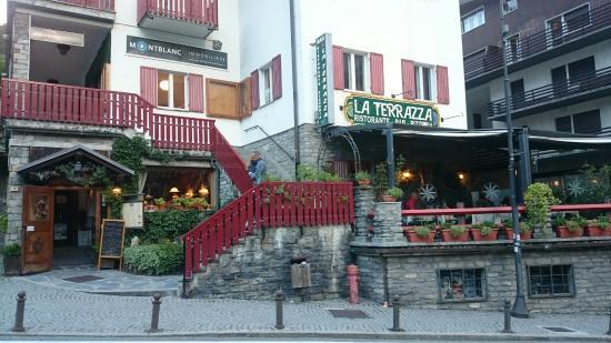 La Terrazza - Picture of Ristorante La Terrazza, Courmayeur ...