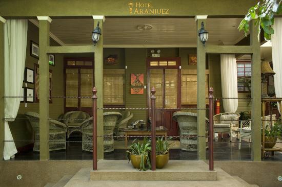 Hotel Aranjuez: Área común