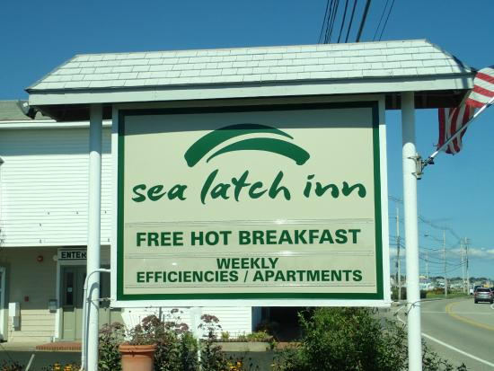 Sea Latch Motor Inn: My motel!