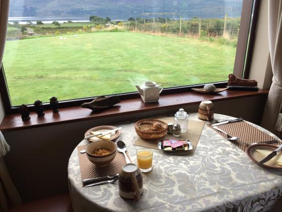 Currane Lodge: Breakfast