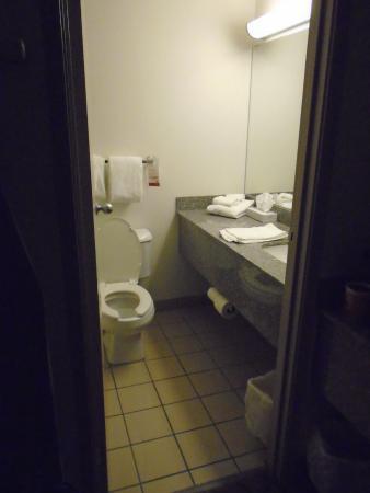 Super 8 Calgary Shawnessy Area: Washroom