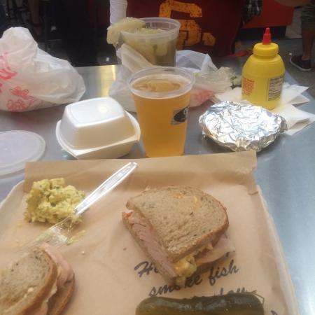Great turkey sandwich