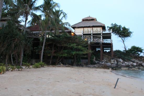 Nirvana Laut Private Island Resort: Bel hotel....dommage
