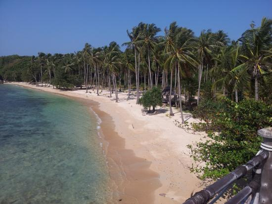 Nirvana Laut Private Island Resort: C'est beau....dommage