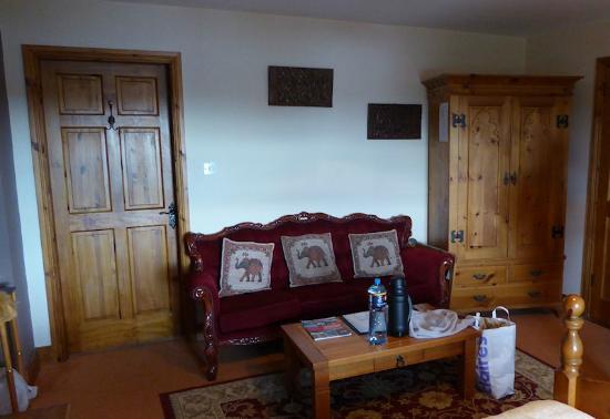 Rossmore Manor: Sitzecke im Zimmer