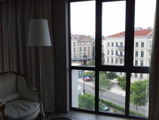 Hotel de France: Vue sur le centre ville