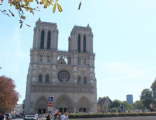 ปารีส, ฝรั่งเศส: Notre Dame vista principal