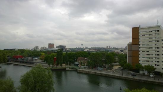 Ibis Paris La Villette Cité des Sciences 19eme: Vista desde la habitación 2 de 2