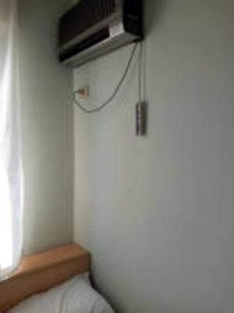 Hotel di Porta Romana: schwer erreichbare Bedienung Klimaanlage