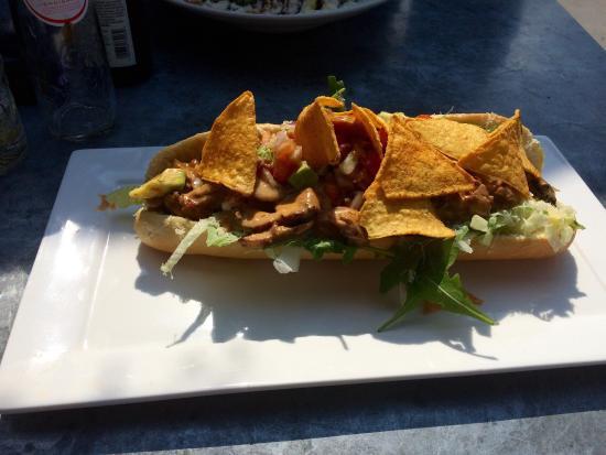 Beneden-Leeuwen, Países Bajos: Broodje Cubanita en broodje Carpaccio
