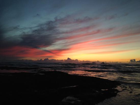 Atlantic Bays Holiday Park: Beautiful sun set