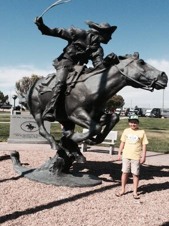 The National Pony Express Monument