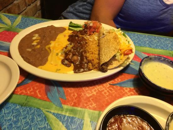 Denison, Teksas: Generous plates