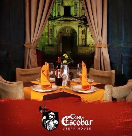 Casa Escobar Restaurant : Antigua Restaurant