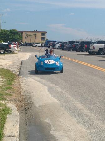 Siesta Key Marina: The Scooter Car