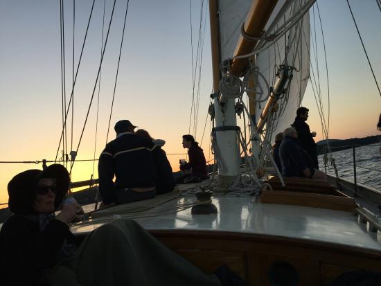 Rockport, ME: Schooner Yacht Heron
