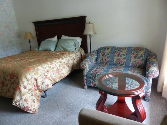 The Mountain View Motel & Cottages: Mountain View Motel room