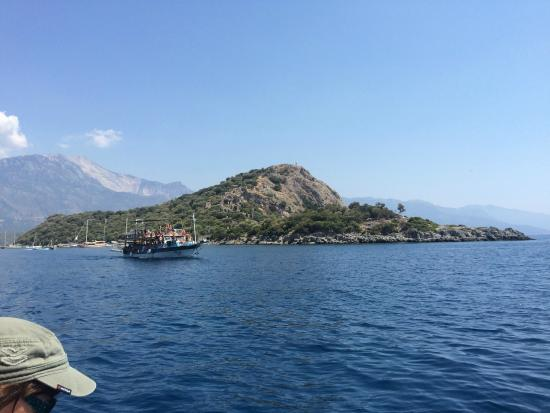 Ozturk Hotel Hisaronu: Cherry Tree Boat Trip - lovely :-)
